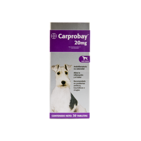 Carprobay - Carprofen 20mg. Tablets