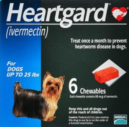 Heartgard Plus Small - Ivermectin and Pyrantel Pamoate