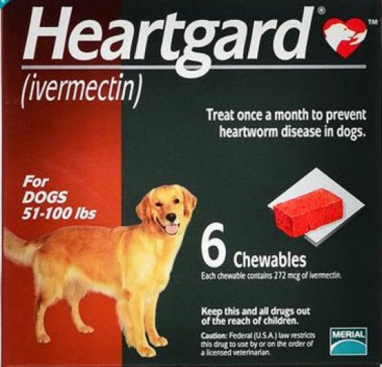 Heartgard Plus Large - Ivermectin and Pyrantel Pamoate