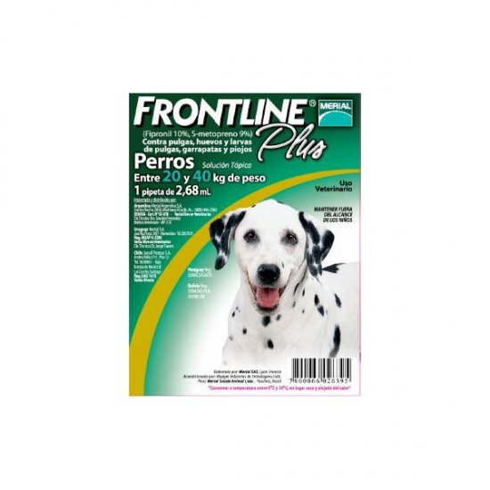 Frontline Plus Large - fipronil & methoprene