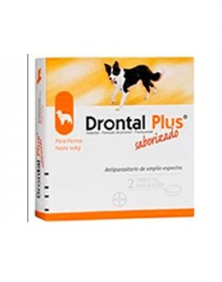 DRONTAL PLUS 1 TAB. SMALL DOGS.