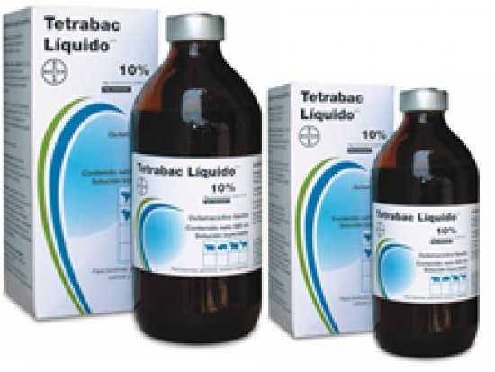 Liquid Tetrabac - Oxytetracycline 100 ml.