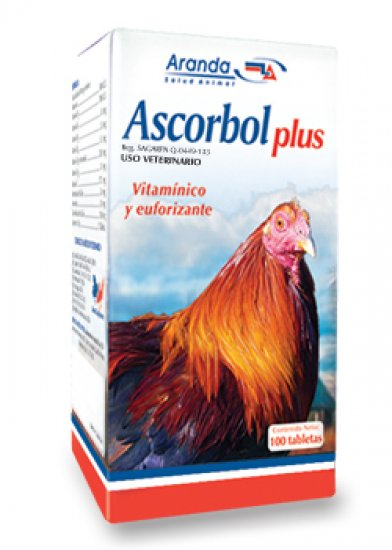 Ascorbol Plus - Vitamins and B12 100 tabs.