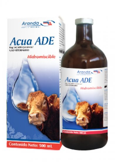 Acua ADE - Vitamines and miscible 500ML.