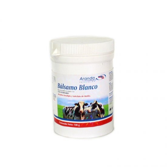 Balsamo Blanco - methyl 100gr.