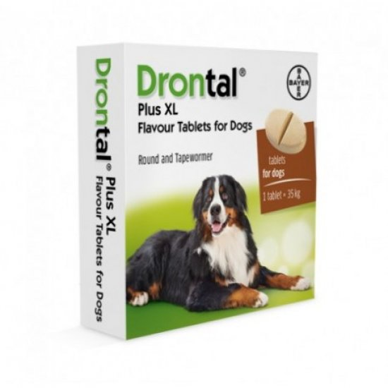 DRONTAL PLUS 1 TAB. LARGE DOGS