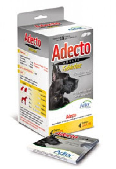 Adult Adecto Tablets - Ivermectin, Praziquantel, Pamoate Pyrantel, Fenbendazol  4 Tbs.