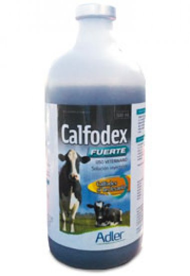 Calfodex Forte 500 ML - Calcium borogluconate, Dextrose, borogluconate magnesium, Elemental Phosphorus