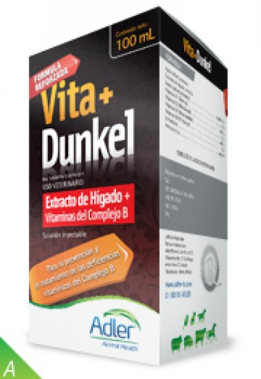 VITA+DUNKEL 100 ml - extract of liver synthetic & Vitamins